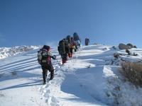 Зимнее восхождение на Большой Чимган (3309 м.)