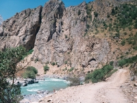 Chatkal Mountain River