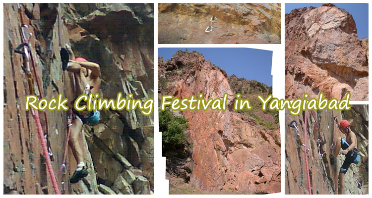 Rock Climbing Festival in Yangiabad