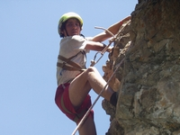 Uzbekistan Rock Climbing